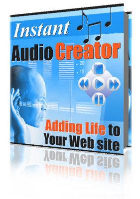 Product picture Instant Audio Creator