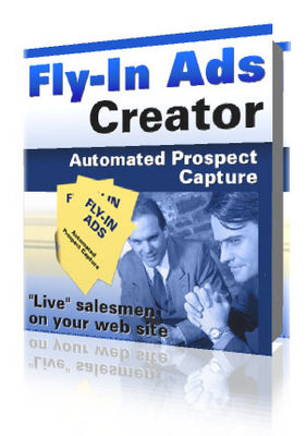 Product picture Fly-in Ads Creator