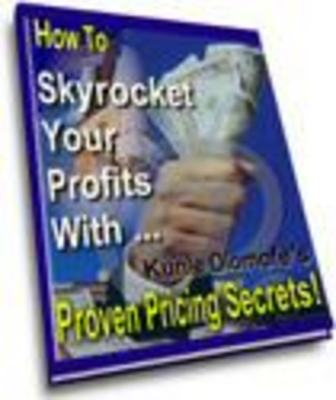 Product picture Proven Pricing Secrets