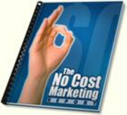 Product picture The No-Cost Marketing Report